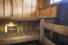 Sauna in the villa
