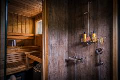 Kylpyhuone ja sauna - Bathroom and sauna
